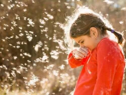 Testes de alergia em crianças