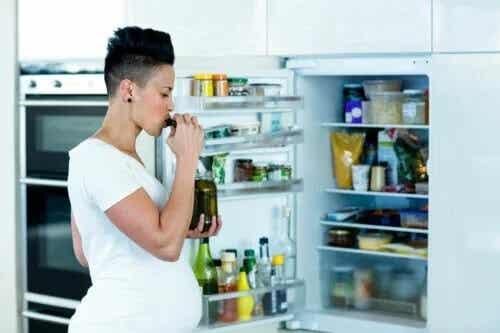 Os desejos mais frequentes durante a gravidez