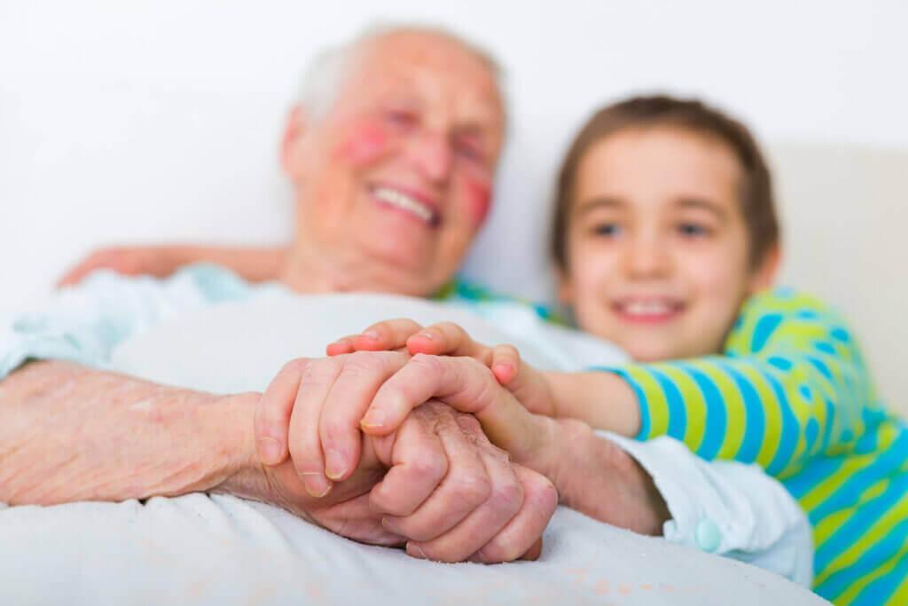 Explicar o Alzheimer para as crianças.
