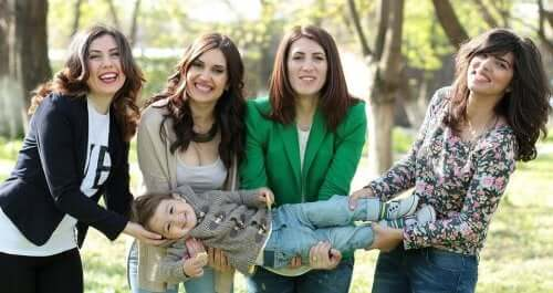 Os benefícios de fazer parte de um grupo de mães