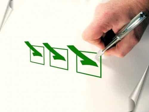 Qual é o método da caneta verde?