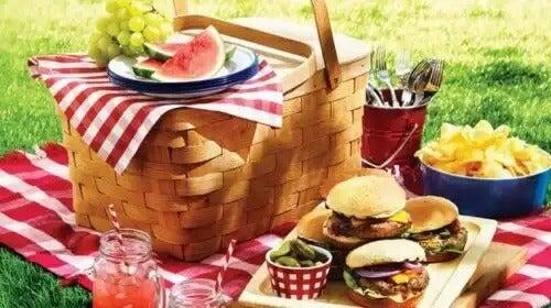 Comidas para um gostoso picnic em família