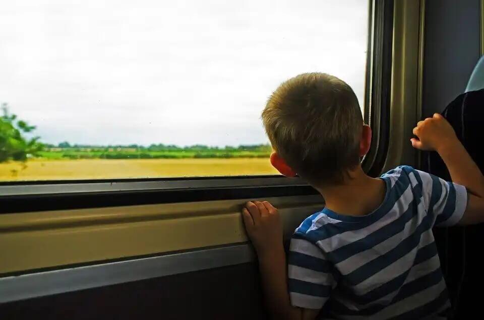 Benefícios de viajar com as crianças.