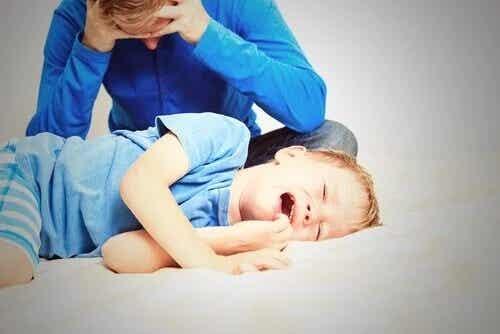Como agir quando seu filho discordar de você?