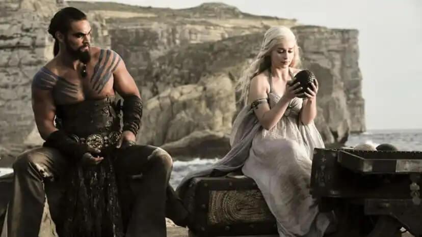 Khal Drogo e Daenerys