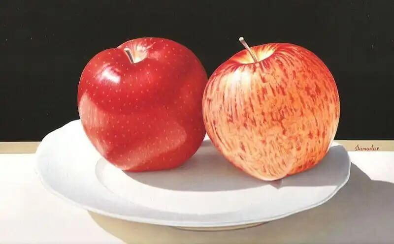 Como explicar o que é o bullying com maçãs