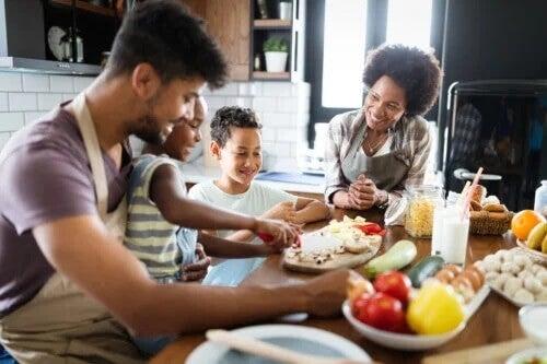 Como planejar um cardápio familiar saudável