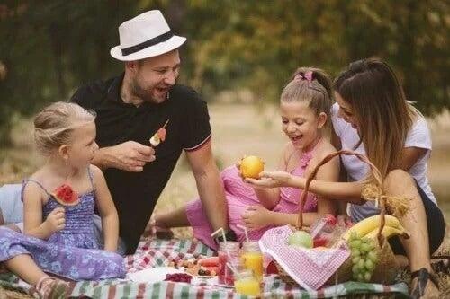 Piquenique em família: uma boa opção para o fim de semana