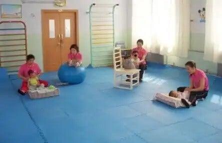 Fisioterapia infantil: para crianças e bebês.