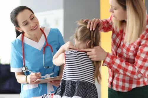 Dor no pescoço em crianças