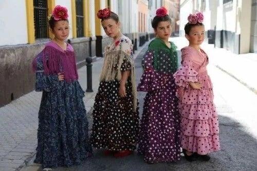 10 benefícios do flamenco para meninas