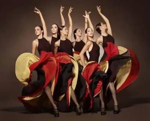 Dança flamenca para mulheres