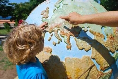 Viajar com as crianças: benefícios educacionais