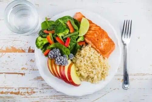 O prato de Harvard como uma das dicas para planejar refeições saudáveis.