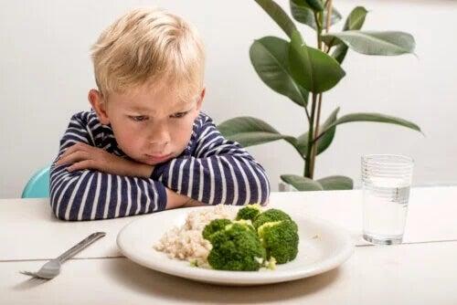 A perda de apetite do bebê a partir do primeiro ano